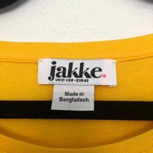 Jakke Tops - jakke girl gang yellow tee